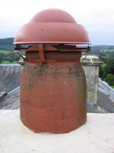 stainless steel chimney cowl installation