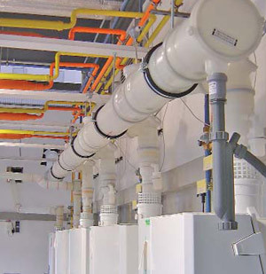 Low Temperature Flue Systems For Commercial And Industrial
