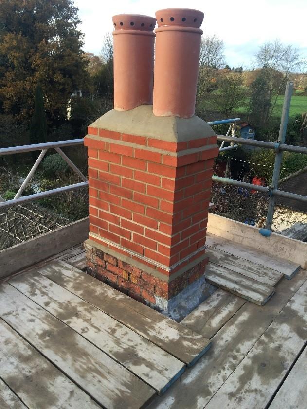 Fireplace Design fireplace flu : Thatched Property Chimney Liner Installation - Billing Chimneys
