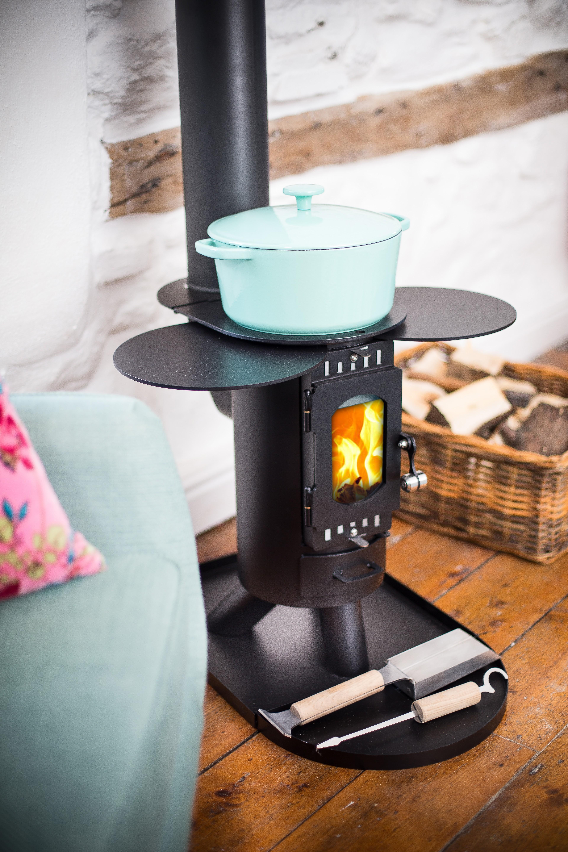 Wood Burning Camp Stove Installation | Dorset & Hampshire