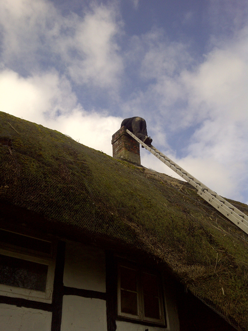 Chimney Liner for Thatched Property