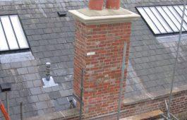 Reinstated chimney