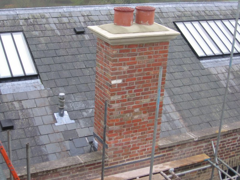 Reinstated chimney