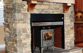Hawk 4 Double Sided Single Depth Wood Burning Stove
