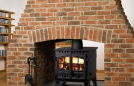 Herald 6 Double Sided Double Depth wood burning stove