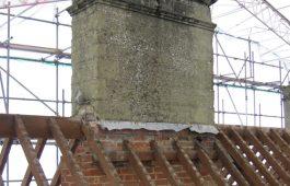 bath chimney repair