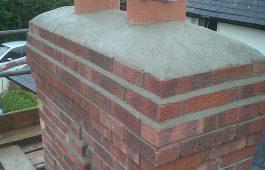 chimney construction in bath