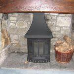 wood burning install 4 Fareham