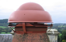 Chimney Cowl and Cap Installation
